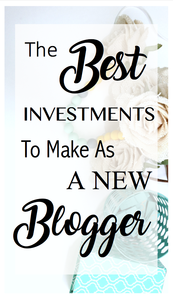 Best investment as a new blogger - momblogfromhome