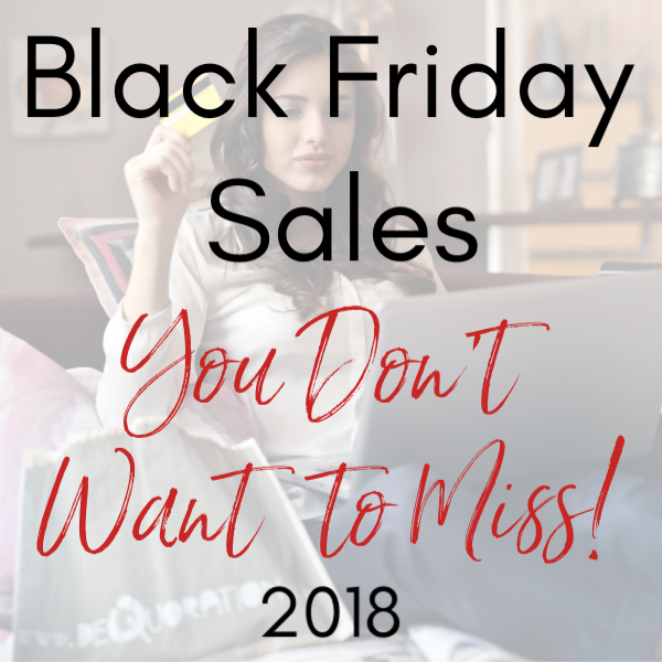 Black Friday 2018 Sales for Bloggers!