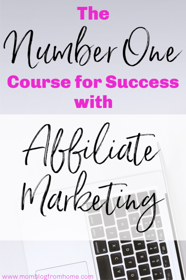 success with affiliate marketing - mom blog from home