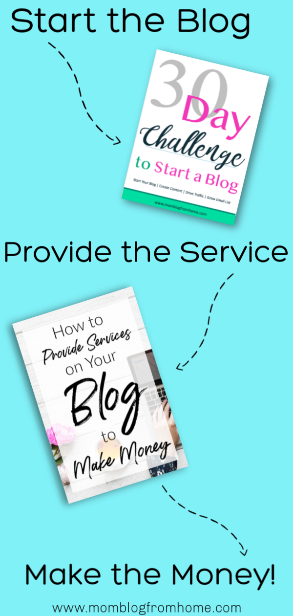 Provide Services to Make Money on your blog - mom blog from home