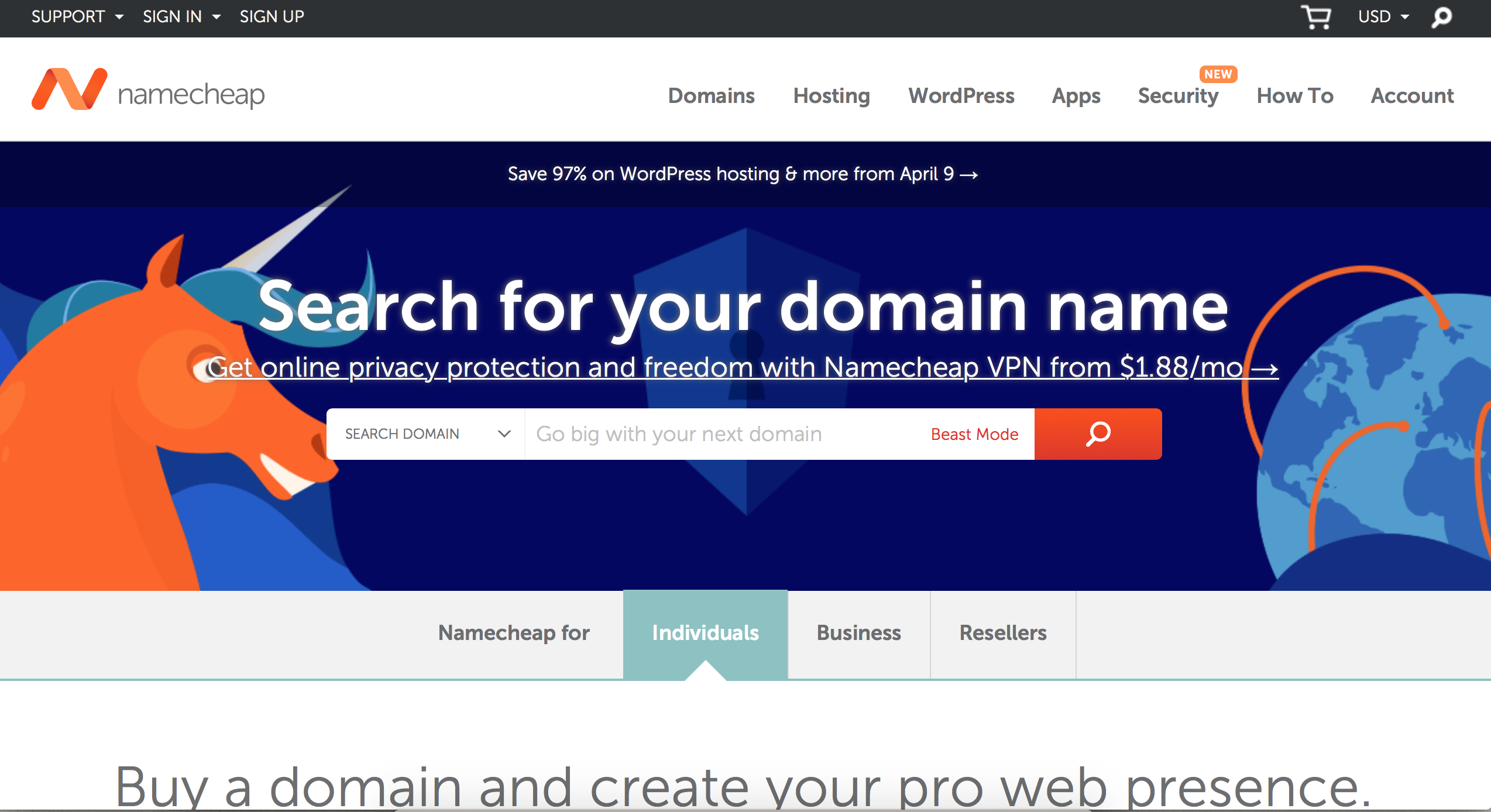 Purchase Your Domain Name Through NameCheap - mom blog from home