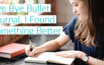 Bye Bye Bullet Journal, I Found Something Better!