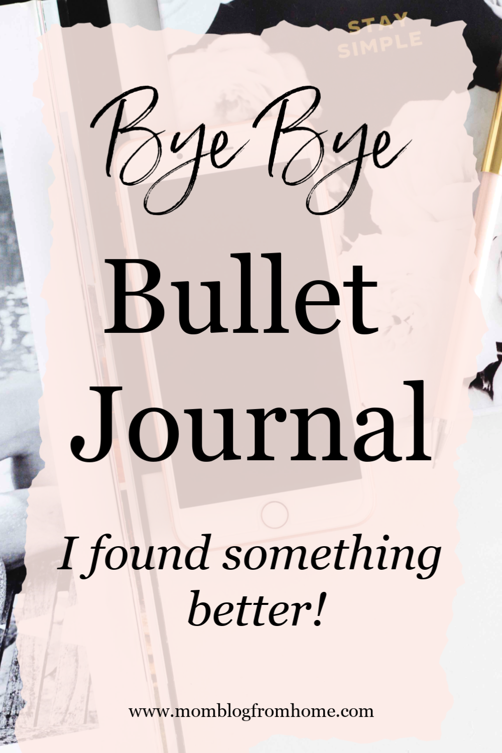 Bye Bye Bullet Journal, I found something better! - momblogfromhome